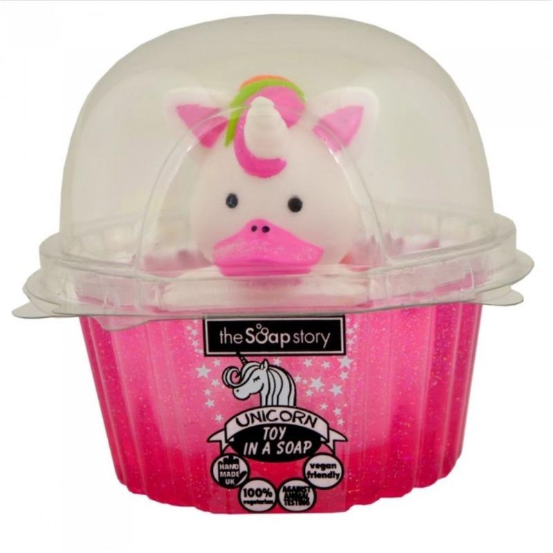 The Soap Story Mýdlo s hračkou Unicorn - Jednorožec