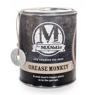 Eco Candle Company The MANdle vonná svíčka v plechu Grease Monkey 425g - Mechanik