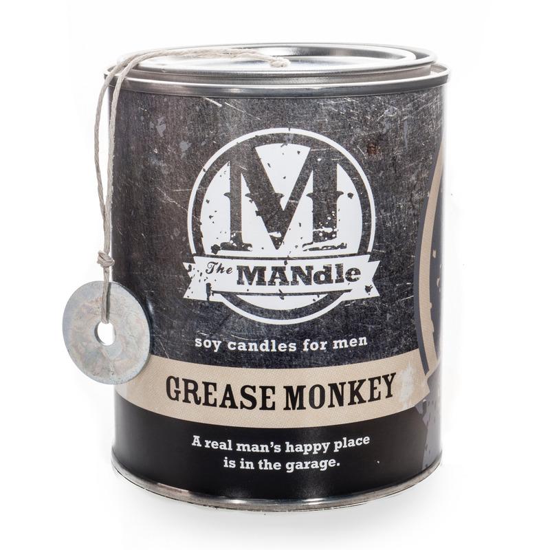 Eco Candle Company The MANdle vonná svíčka v plechu Grease Monkey 425g - Mechanik