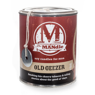 Eco Candle Company The MANdle vonná svíčka v plechu Old Geezer 425g - Veterán