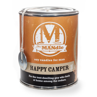 Eco Candle Company The MANdle vonná svíčka v plechu Happy Camper 425g - Šťastný táborník