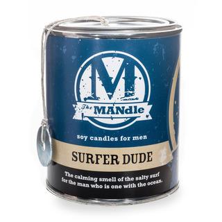 Eco Candle Company The MANdle vonná svíčka v plechu Surfer Dude 425g - Surfař