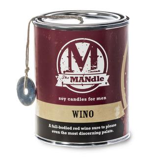 Eco Candle Company The MANdle vonná svíčka v plechu Wino 425g - Sommeliér