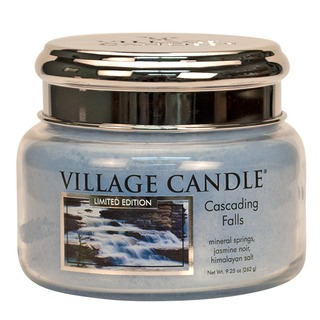 Village Candle Malá vonná svíčka ve skle Cascading Falls 262g