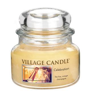 Village Candle Malá vonná svíčka ve skle Celebration 262g - Oslava