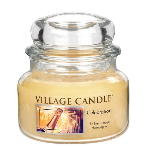 Village Candle Celebration 262g - malá vonná svíčka ve skle Oslava