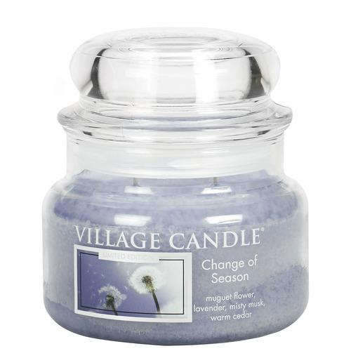 Village Candle Change of Season 262g - malá vonná svíčka ve skle Proměny jara