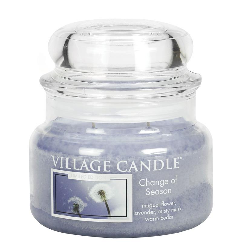 Village Candle Malá vonná svíčka ve skle Change of Season 262g - Proměny jara