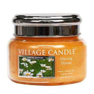 Village Candle Malá vonná svíčka ve skle Dancing Daisies 262g - Tančící sedmikrásky
