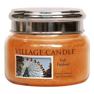 Village Candle Malá vonná svíčka ve skle Fall Festival 262g - Podzimní slavnost