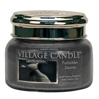 Village Candle Malá vonná svíčka ve skle Forbidden Desires 262g