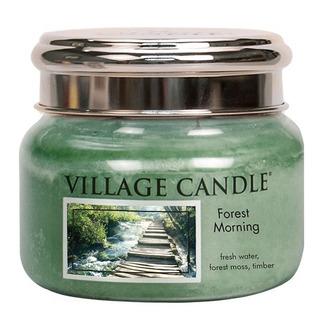 Village Candle Malá vonná svíčka ve skle Forest Morning 262g - Lesní probuzení