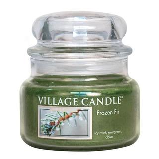 Village Candle Mallá vonná svíčka ve skle Frozen Fir 262g - Jinovatka
