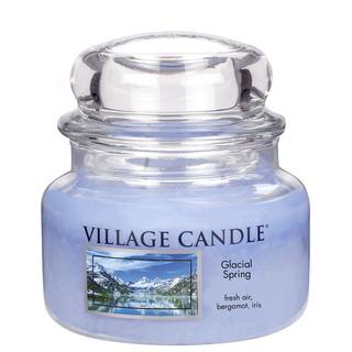 Village Candle Malá vonná svíčka ve skle Ledovcový vánek 262g - Glacial Spring
