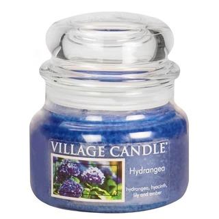 Village Candle Malá vonná svíčka ve skle Hydrangea 262g - Hortenzie