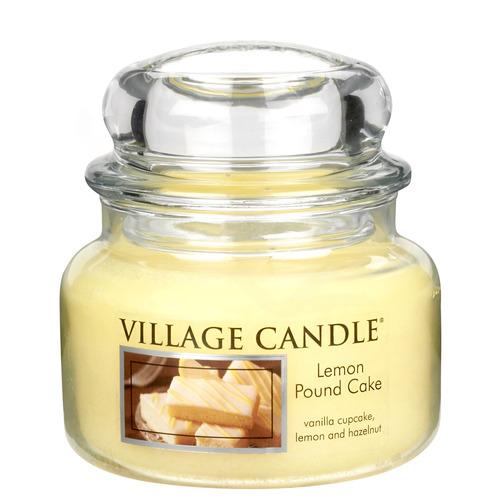 Village Candle Lemon Pound Cake 2627g - malá vonná svíčka ve skle Citronový koláč