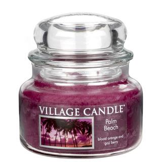 Village Candle Malá vonná svíčka ve skle Palm Beach 262g - Palmová pláž