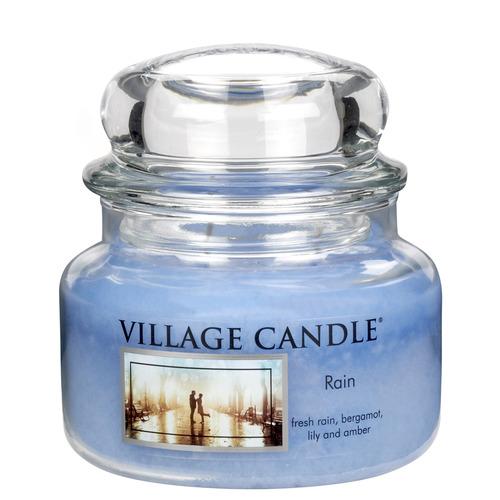 Village Candle Rain 262g - mala vonná svíčka ve skle Déšť