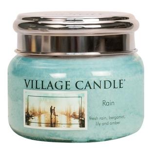 Village Candle Malá vonná svíčka ve skle Rain 262g - Déšť