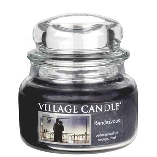 Village Candle Malá vonná svíčka ve skle Rendezvous 262g - Rande