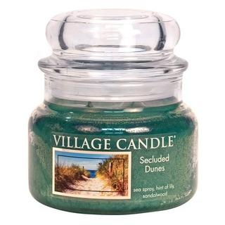 Village Candle Malá vonná svíčka ve skle Secluded Dunes 262g - Písečné duny