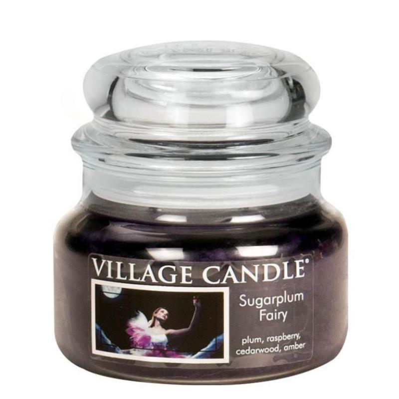 Village Candle Malá vonná svíčka ve skle Sugarplum Fairy 262g - Půlnoční víla