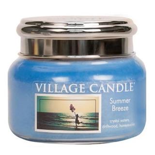 Village Candle Malá vonná svíčka ve skle Summer Breeze 262g - Letní vánek
