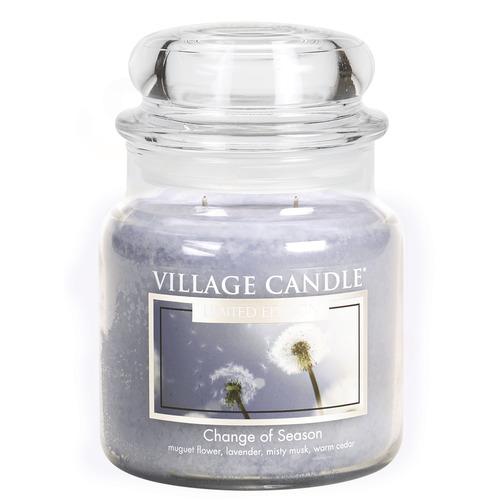 Village Candle Change of Season 397g - středni vonná svíčka ve skle Proměny jara