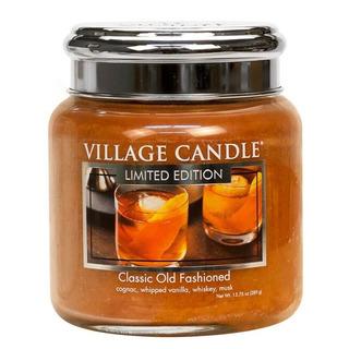 Village Candle Střední vonná svíčka ve skle Classic Old Fashioned 397g - Osvědčená klasika