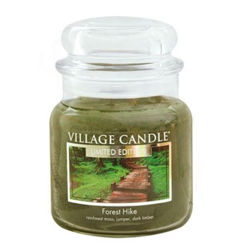 Village Candle Forest Hike 397g - střední vonná svíčka ve skle Zákoutí lesa