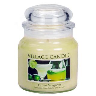 Village Candle Střední vonná svíčka ve skle Frozen Margarita 397g - Margarita