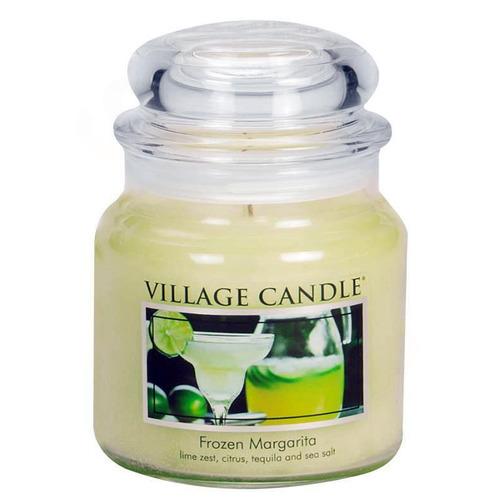 Village Candle Frozen Margarita 397g - střední vonná svíčka ve skle Margarita