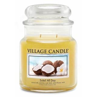 Village Candle Střední vonná svíčka ve skle Soleil All Day 397g - Den na pláži