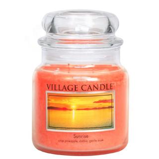 Village Candle Střední vonná svíčka ve skle Sunrise 397g - Východ slunce