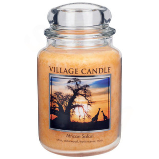 Village Candle Velká vonná svíčka ve skle Honey Comb 645g - Medový sen