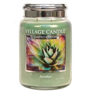 Village Candle Velká vonná svíčka ve skle Awaken 645g
