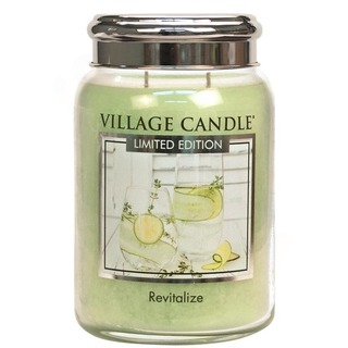 Village Candle Velká vonná svíčka ve skle Revitalize 645g