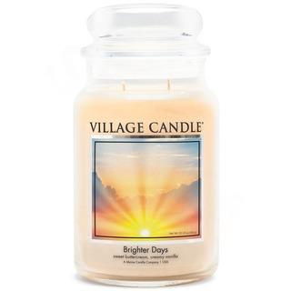 Village Candle Velká vonná svíčka ve skle Brighter Days 645g - Jasnější dny