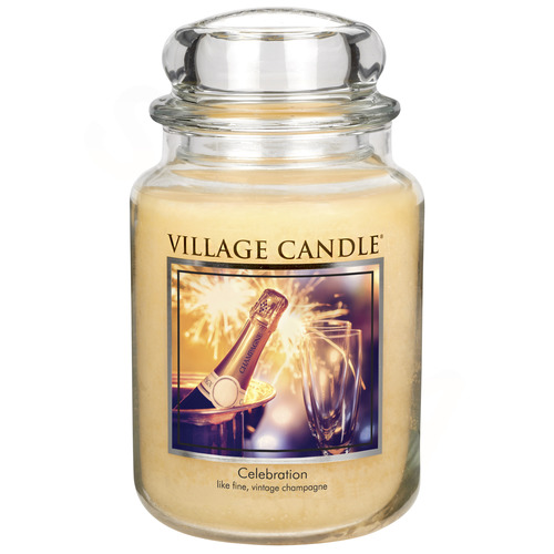Village Candle Celebration 645g - velká vonná svíčka ve skle Oslava