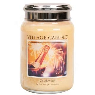Village Candle Velká vonná svíčka ve skle Celebration 645g - Oslava