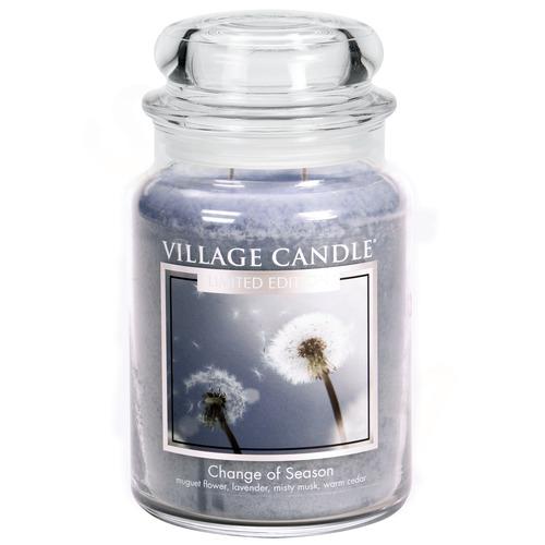 Village Candle Change of Season 645g - velká vonná svíčka ve skle Proměny jara