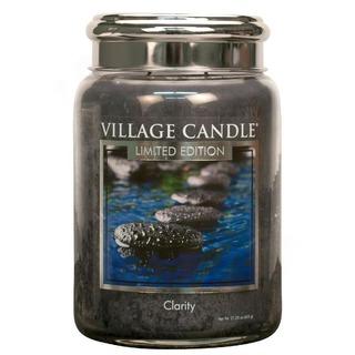 Village Candle Velká vonná svíčka ve skle Clarity 645g