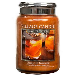 Village Candle Velká vonná svíčka ve skle Classic Old Fashioned 645g - Osvědčená klasika