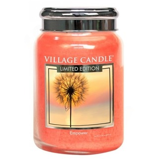 Village Candle Velká vonná svíčka ve skle Empower 645g