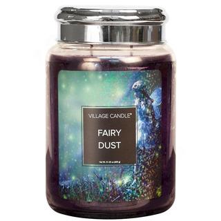 Village Candle Velká vonná svíčka ve skle Fairy Dust 645g - Vílí prach