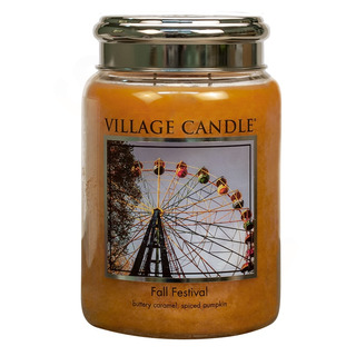 Village Candle Velká vonná svíčka ve skle Fall Festival 645g - Podzimní slavnost