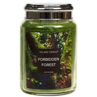 Village Candle Velká vonná svíčka ve skle Forbidden Forest 645g - Zapovězený les