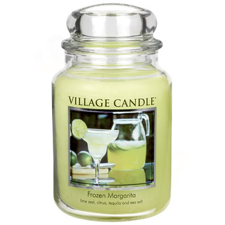 Village Candle Velká vonná svíčka ve skle Frozen Margarita 645g - Margarita