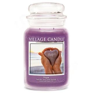 Village Candle Velká vonná svíčka ve skle Hope 645g - Naděje