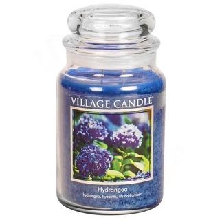 Village Candle Velká vonná svíčka ve skle Hydrangea 645g - Hortenzie